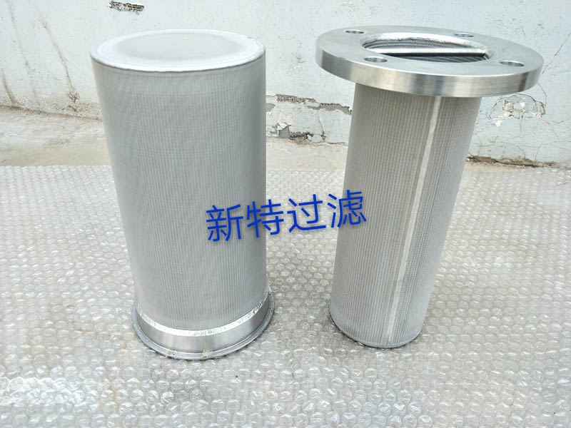 sintered filter cartridges