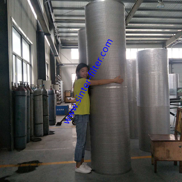 OD596X2400mm Length filter for self-cleaning machine in sea water_副本