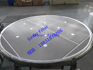 Sinter Filter Screen for Nutsche filter